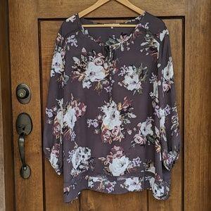 Violet & Claire floral blouse